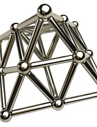 cheap -27+36 pcs 8mm Magnet Toy Magnetic Balls Magnetic Sticks Building Blocks Super Strong Rare-Earth Magnets Neodymium Magnet Neodymium Magnet Glossy Creative DIY Sports Kid's / Adults' Boys' Girls' Toy