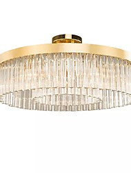 cheap -QIHengZhaoMing 8-Light Bowl Chandelier Ambient Light Brass Electroplated Metal 110-120V / 220-240V Warm White Bulb Included
