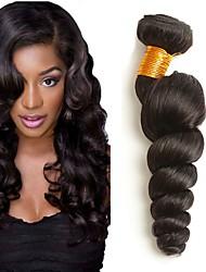 cheap -3 Bundles Peruvian Hair Wavy Human Hair Human Hair Extensions Natural Color Human Hair Weaves Extention Hot Sale Human Hair Extensions / 8A