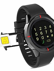 cheap -Smartwatch GW12 for iOS / Android Bluetooth / Water Resistant / Touch Sensor / Pedometers / APP Control Pulse Tracker / Pedometer / Call Reminder / Activity Tracker / Sleep Tracker / Finger sensor