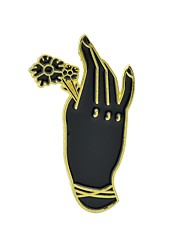 cheap -Brooches Flower Ladies Basic Fashion Brooch Jewelry Gold Silver Hamsa Hand For Daily Date