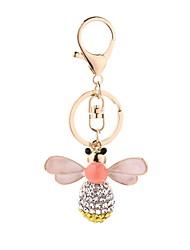 Недорогие -Брелок Пчела На каждый день европейский Модные кольца Бижутерия Розовый Назначение Повседневные Официальные
