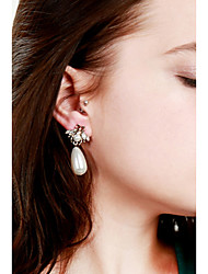 cheap -Drop Earrings Drop Spiders Ladies Fashion Imitation Pearl Earrings Jewelry Gold For Daily Date