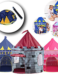 cheap -Play Tent & Tunnel Playhouse Tent Castle Star Foldable Convenient Parent-Child Interaction PVC (Polyvinylchlorid) Polyester Indoor Outdoor Spring Summer Fall 5 to 7 Years 8 to 13 Years Unisex Pop Up
