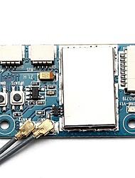 cheap -FLYSKY X6B 2.4G 6CH i-BUS PPM PWM Receiver 1pc Receiver Metal