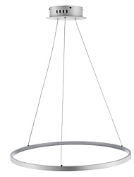 cheap -Ecolight™ 1-Light Circular Pendant Light Ambient Light  Acrylic LED 110-120V / 220-240V with Warm White / White / Dimmable With Remote Control LED Light Source Included