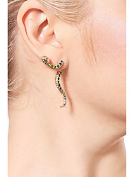 cheap -Drop Earrings Snake Ladies Fashion Earrings Jewelry Gold For Daily Date