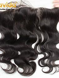 cheap -Yavida Peruvian Hair / Body Wave 4x13 Closure Wavy Free Part Swiss Lace Virgin Human Hair All With Baby Hair / Silky / For Black Women Birthday