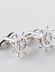 cheap -Cufflinks European Fashion Alloy Brooch Jewelry Silver For Wedding Formal