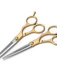 cheap -Hair Styling Tools Stainless Steel Accessory Kits scissors Case / Women / Pro 1pcs Daily Simple / New Golden