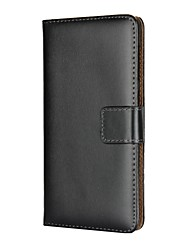 cheap -Case For Nokia Nokia 9 / Nokia 7 Card Holder / with Stand / Flip Full Body Cases Solid Colored Hard PU Leather for Nokia 9 / Nokia 8 / Nokia 7 / Nokia 6