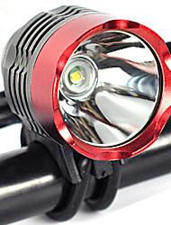 Недорогие -Светодиодная лампа Велосипедные фары Передняя фара для велосипеда Фары для велосипеда LED Горные велосипеды Велоспорт Велоспорт Водонепроницаемый Несколько режимов Супер яркий Портативные / IP67
