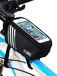 cheap -Cell Phone Bag Top Tube Bag 5.7 inch Cycling for iPhone 8/7/6S/6 iPhone X Samsung Galaxy S8+ / Note 8 Black Blue Red Cycling / Bike / iPhone XR / iPhone XS / iPhone XS Max