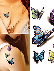 cheap -10 pcs Tattoo Stickers Temporary Tattoos Cartoon Series Body Arts Brachium