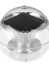 Недорогие -hkv® солнечная ночная лампа солнечная энергия энергия сад вода плавающая водонепроницаемая светодиодная лампа светлый пруд шарик