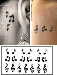 cheap -10 pcs Tattoo Stickers Temporary Tattoos Cartoon Series Body Arts Arm
