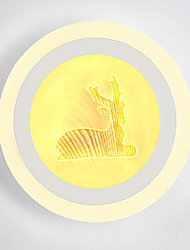 cheap -Novelty Picture Wall Lights Bedroom / Study Room / Office / Indoor Metal Wall Light 220-240V 13 W / LED Integrated
