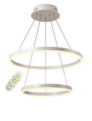 cheap -2-Light Modern Acrylic Simplicity LED Chandeliers Two laps Indoor Light For Office Living Room Bedroom Restaurant Pendant Lights