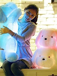 cheap -Stuffed Animal Plush Toys Plush Dolls Stuffed Animal Plush Toy Romance Dog Cute LED Light Lovely Music & Light Comfy Giant Big Imaginative Play, Stocking, Great Birthday Gifts Party Favor Supplies