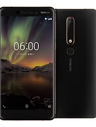 cheap -NOKIA 6 5.5 inch inch 4G Smartphone (4GB + 64GB 16 mp Snapdragon 630 3000 mAh mAh) / 1920*1080 / Octa Core / FDD(B1 2100MHz) / FDD(B3 1800MHz) / FDD(B5 850MHz)