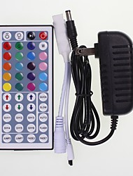 cheap -SENCART 1pc 100-240 V LED Indicator / Remote Controlled / Strip Light Accessory Plastic Power Adapter / RGB Controller Black for RGB LED Strip Light