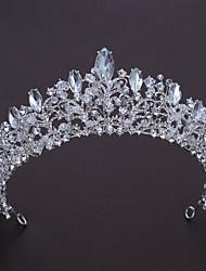 cheap -Alloy Tiaras with Rhinestone 1pc Wedding / Party / Evening Headpiece