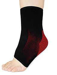 cheap -Ankle Support Ankle Sleeve for Yoga Running Damping Eases pain Polyester / Polyamide 1 pc Sports & Outdoor Black / Red