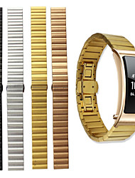 cheap -Watch Band for Huawei B3 Huawei Butterfly Buckle Stainless Steel Wrist Strap