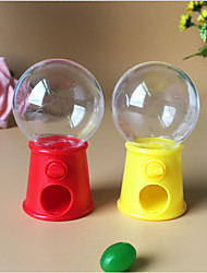 cheap -Circular Plastic Favor Holder with / Favor Boxes - 12