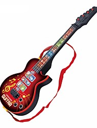 cheap -Electric Guitar Guitar Lights Music Boys' Girls' Kid's Toy Gift 1 pcs