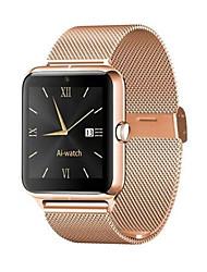 Недорогие -Муж. Для пары Повседневные часы Модные часы золотые часы Цифровой Черный / Серебристый металл / Золотистый Защита от влаги Bluetooth Секундомер Цифровой Роскошь Мода - Золотой Черный Серебряный