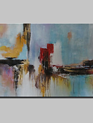 cheap -Mintura® Hand Painted Abstract Oil Painting on Canvas Modern Wall Art Pictures for Home Decor Ready To Hang