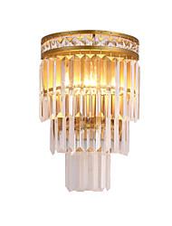 cheap -QIHengZhaoMing Crystal Wall Lamps & Sconces Living Room / Study Room / Office Metal Wall Light IP20 110-120V / 220-240V 3 W / E12 / E14