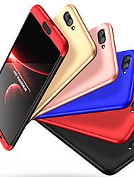 Недорогие -Кейс для Назначение Huawei Huawei Honor View 10 Защита от удара Чехол Однотонный Твердый ПК