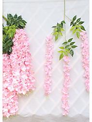 Недорогие -Полиэстер Пастораль Стиль Цветы на стену 1