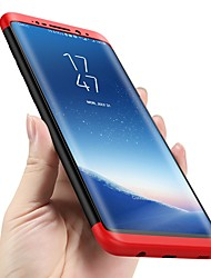 cheap -Phone Case For Samsung Galaxy Full Body Case S9 S9 Plus S8 Plus S8 S7 edge S7 S6 edge S6 Shockproof Ultra-thin Solid Color Hard PC