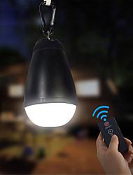 Недорогие -Походные светильники и лампы Водонепроницаемый 150 lm Светодиодная лампа LED излучатели Водонепроницаемый Портативные Пульт управления Простота транспортировки