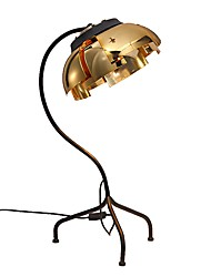 cheap -Table Lamp Decorative Contemporary / Artistic DC Powered For Metal 110-120V / 220-240V Gold / Black