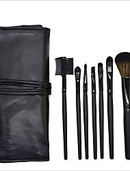 cheap -Professional Makeup Brushes Makeup Brush Set 7 PCS Eco-friendly Professional Full Coverage Synthetic Hair / Artificial Fibre Brush Wooden Makeup Brushes for