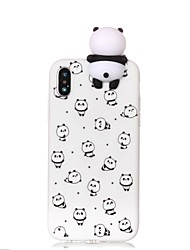 cheap -Phone Case For Apple Back Cover iPhone 12 Pro Max 11 SE 2020 X XR XS Max 8 7 6 Pattern DIY Cartoon Panda Soft TPU