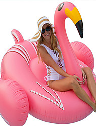 cheap -Inflatable Pool Float Donut Pool Float Inflatable Pool Outdoor Party Favor Summer Pool Toys PVC / Vinyl Summer Flamingo Pool 1 pcs All Kid's Adults'