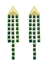 cheap -Drop Earrings Ladies Fashion Earrings Jewelry Green For Gift Date