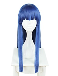 cheap -Cosplay Cosplay Wigs All 28 inch Heat Resistant Fiber Blue Anime Wig / Others / Others