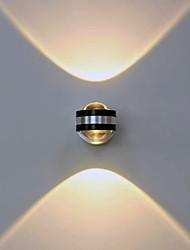 cheap -Modern Contemporary Flush Mount wall Lights Metal Wall Light 90-240V 2 W / LED Integrated