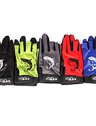 cheap -Fishing Gloves Fingerless Half Finger 2 pcs Full Finger Gloves Fingerless Gloves Jigging Waterproof Windproof Anti-Slip Cloth Polyester / Sea Fishing / Fly Fishing / Bait Casting / Ice Fishing