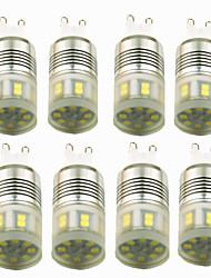 cheap -8pcs 3 W LED Bi-pin Lights 200 lm E14 G9 T 20 LED Beads SMD 2835 Decorative Warm White Cold White 220-240 V