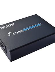 cheap -Scart to HDMI Converter Scart Converter 720P 1080P HDMI Converter Audio Converter