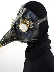 cheap -Masquerade Mask Halloween Mask Inspired by Plague Doctor Steampunk Black Behave Mask Punk Rave Halloween Men's Women's