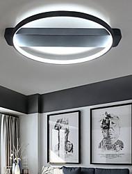 cheap -1-Light 32W Geometric Modern Style Round Simplicity LED Ceiling Lamp Flush Mount Living Room Bedroom