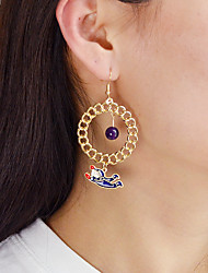 cheap -Drop Earrings Mismatched Ball Ladies Earrings Jewelry Gold For Daily Date